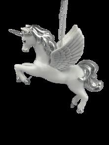 FLYING WHITE UNICORN HANGER