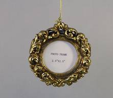 ROUND RESIN PHOTOFRAME HANGER