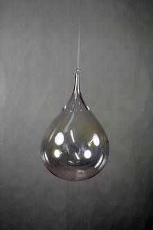 CLEAR WATERDROP HANGER