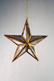 14CMD 5PT STAR MIRROR HANGER