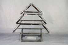 22CMH STAINLESS STEEL TREE TERRARIUM