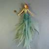 AQUA FAIRY W STAR WAND, FEATHER SKIRT