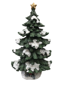 135CMH GREEN LIT MAGNESIA TREE