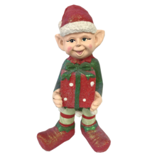 BOY ELF HOLDING GIFT