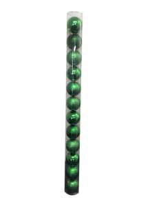 SET12, 10CMD GREEN BALLS IN TUBE