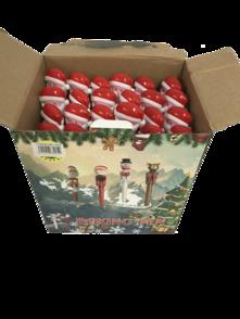 24PCS DISPLAY SANTA BOXING PENS