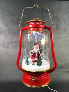 34CMH SNOWING RED LAMP