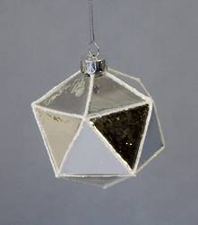FACETED MIRROR GLASS BALL