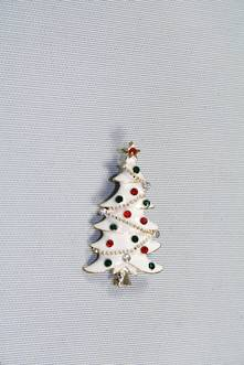DOZ RED/GREEN WHITE XMAS TREE HANGERS