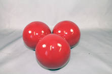 SET3 10CMD RED BALLS