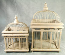 SET 2 RECTANGLE KANARA BIRD HOUSES