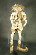 61CMH FLEXIBLE GOLD / CREAM CHECK POSABLE ELF
