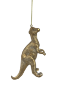GOLD DINOSAUR SPINY HEAD HANGER