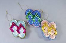 SET3 GLASS JANDAL HANGERS