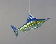 BLUE/GREEN GLASS MARLIN