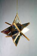 10CMD 3D MIRRORED STAR HANGER