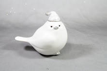 9CMH WHITE RESIN BIRD