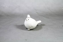 5CMH WHITE RESIN BIRD
