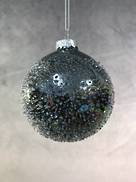 8CMD PEARLESCENT BLACK GLASS BALL (6)