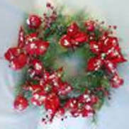 NATURAL BERRY/SNOWY WREATH