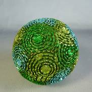 EVERGREEN 80MM RESIN BAUBLE