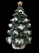 135CMH GREEN LIT MAGNESIA TREE