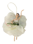18CM GARDEN FAIRY IN WHITE GREEN