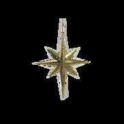 GOLD STAR OF DAVID HANGER