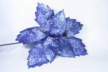 35CMD BLUE VELVET FLOWER