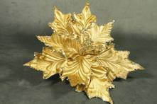 GOLD CHAMPAGNE FLOWER (12)