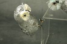 CUTE LITTLE SILVER OWL