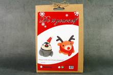 DIY WOOLLEN PENGUIN AND DEER (6)