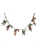 AGED METAL CANDY CANE GARLAND