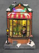BATTERY CHRISTMAS LED TOY SHOP