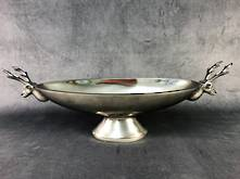 35CMW REINDEER BOAT BOWL-NICKEL