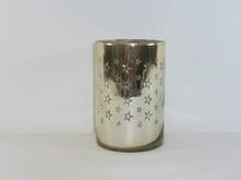 GOLD W. STARS TEALIGHT