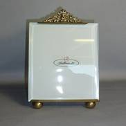 BRASS EASEL PHOTO FRAME