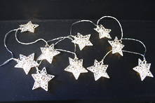 SILVER STAR SET10 BATTERY OPERATED LIGHTS
