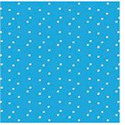 LOTS OF DOTS BLUE COCKTAIL NAPKIN