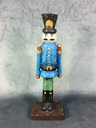 28CM BLUE NUTCRACKER MAN