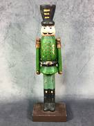 28CMH GREEN NUTCRACKER MAN