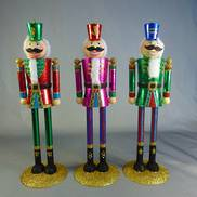 RED METAL NUTCRACKER