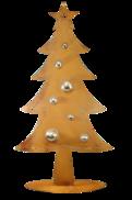 100CMH METAL RUST CHRISTMAS TREE