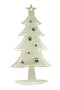 100CMH METAL WHITE CHRISTMAS TREE