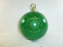 DOZ GREEN LASER BALL HANGING ORNAMENT