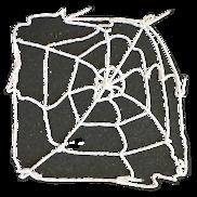 5FT WHITE SPIDER WEB