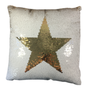 SEQUIN STAR CUSHION