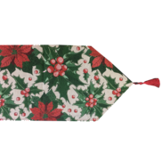 PONSETTIA TABLE RUNNER