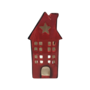 SMALL RED CERAMIC HOUSE