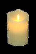 12CMH LARGE CREAM LED WAX CANDLE